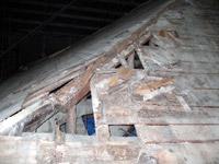 薬師堂屋根隅木